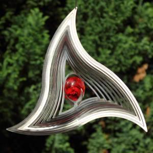 Triangle Windspiel aus Edelstahl